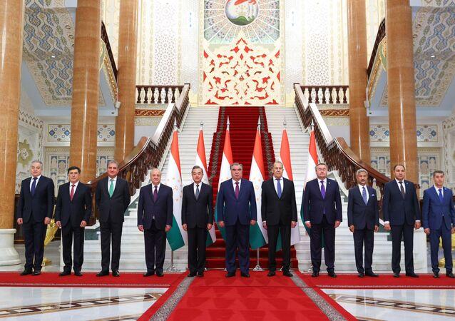 سيرغي لافروف في اجتماع أعضاء منظمة شانغهاي للتعاون