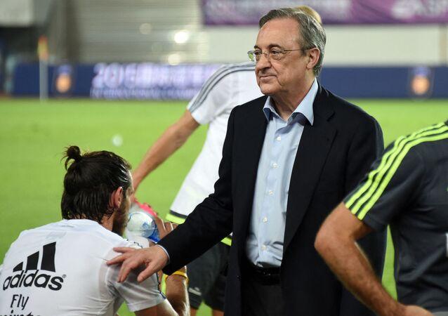 فلورنتينو بيريس رئيس نادي ريال مدريد