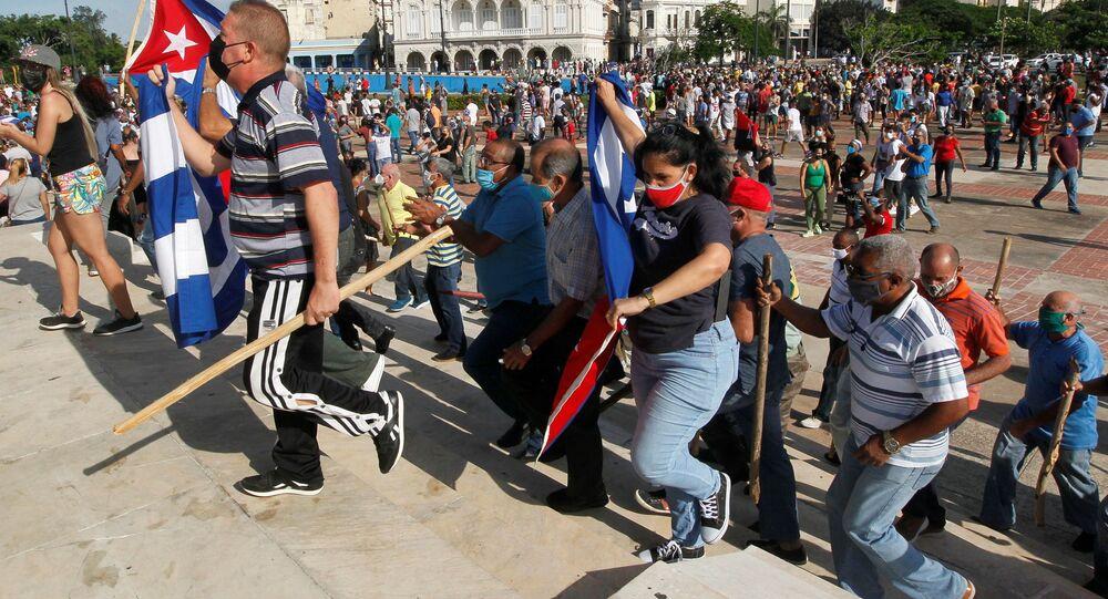 احتجاجات في كوبا