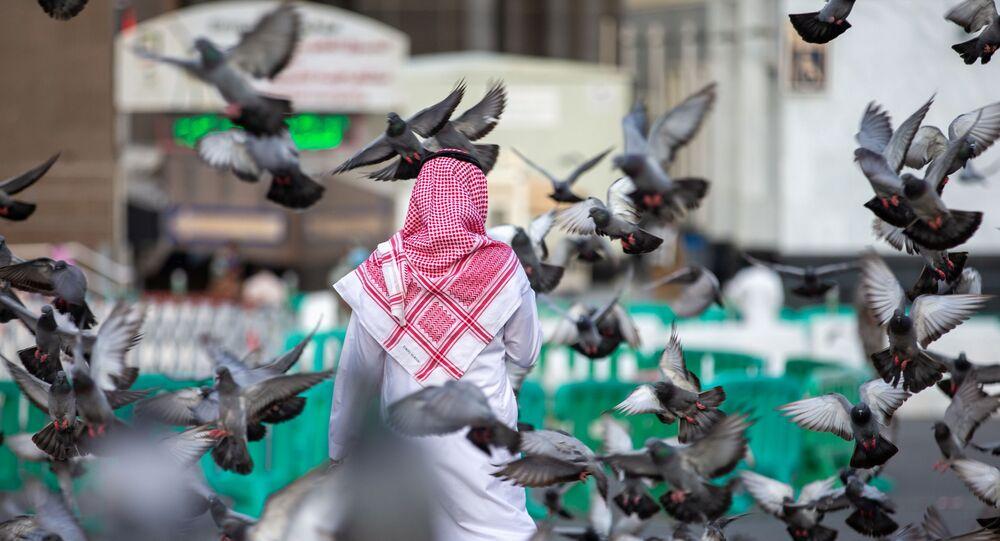 التحضيرات لاستقبال مراسم الحج، توافد الحجاج إلى مكة، المملكة العربية السعودية 17 يوليو 2021