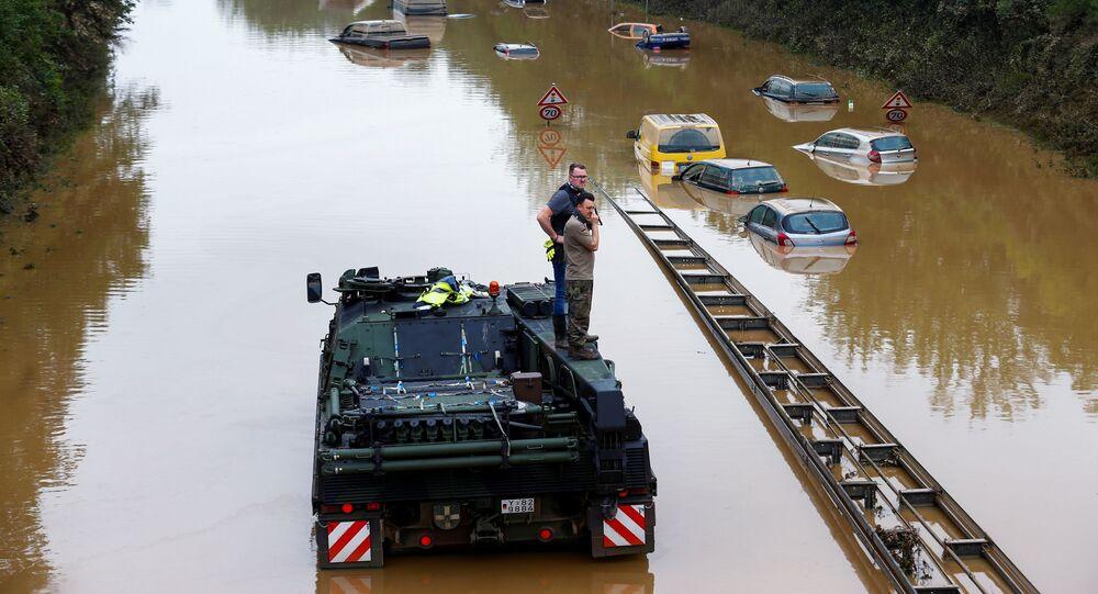 فيضانات في ألمانيا