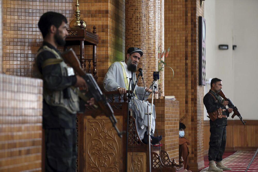 صلاة عيد الأضحى في مدينة كابول، أفغانستان 20 يوليو 2021