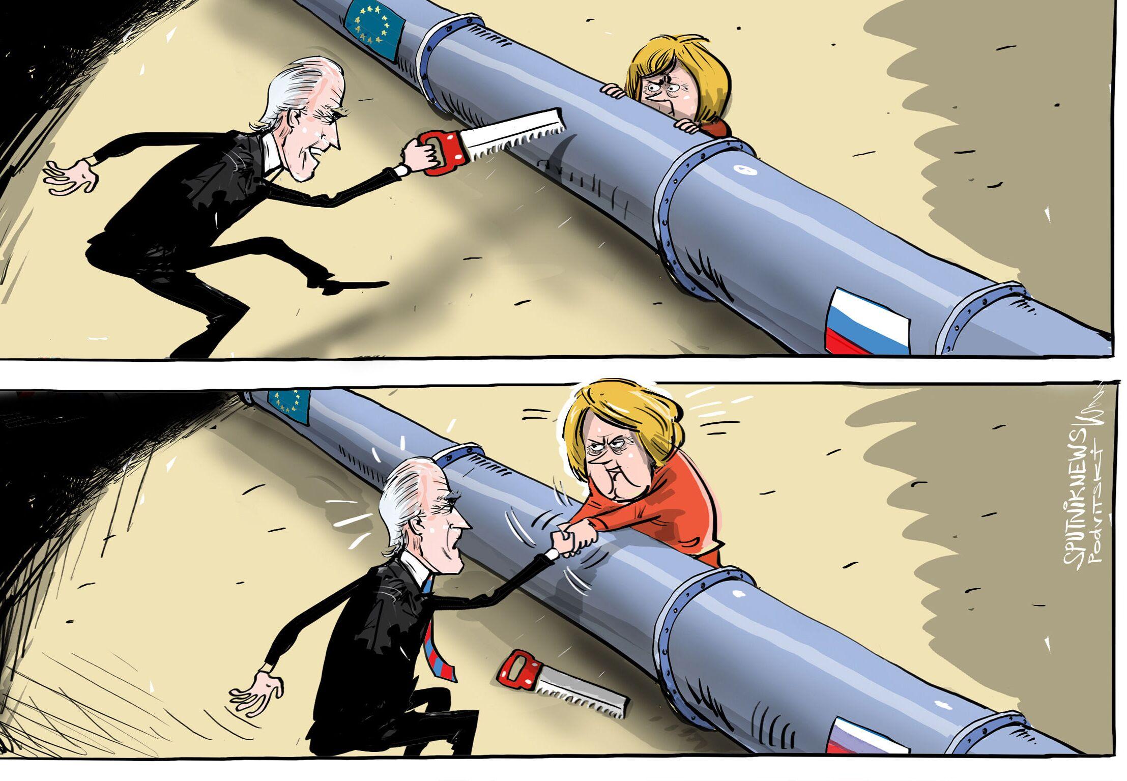 هل اتفقت أخيرا أمريكا وألمانيا حول التيار الشمالي 2؟