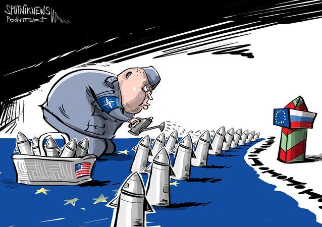 نشر صواريخ فرط الصوتية الأمريكية في أوروبا
