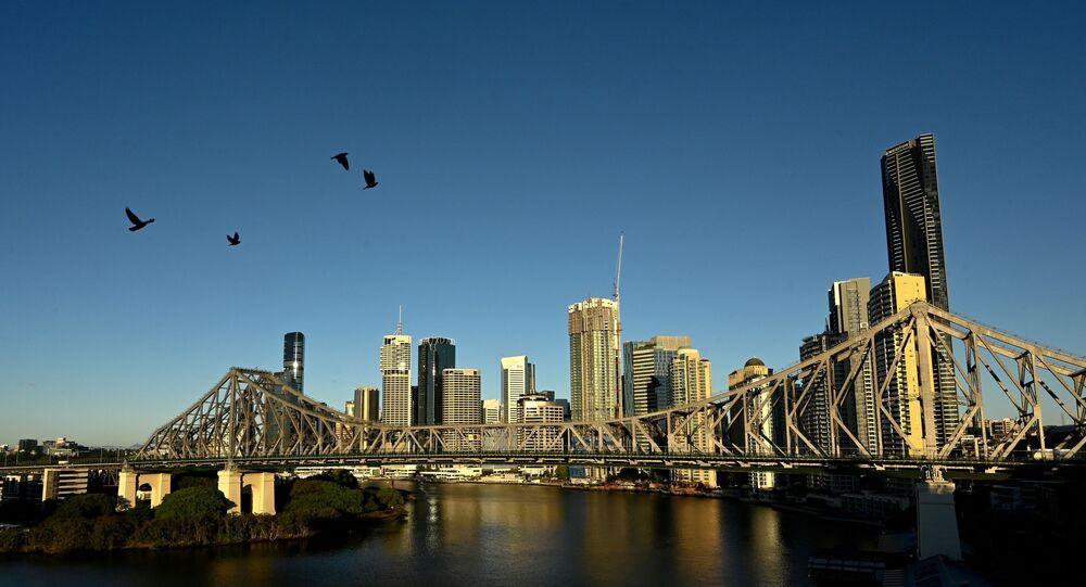 مدينة برزبين الأسترالية