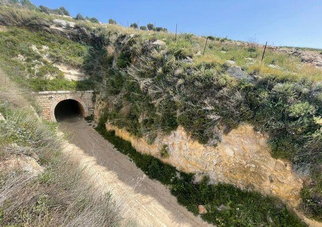 نفق القطار العثماني تحفة أثرية يزيد عمرها عن مئة عام في فلسطين، 22 يوليو 2021