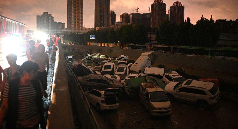 فيضانات في الصين