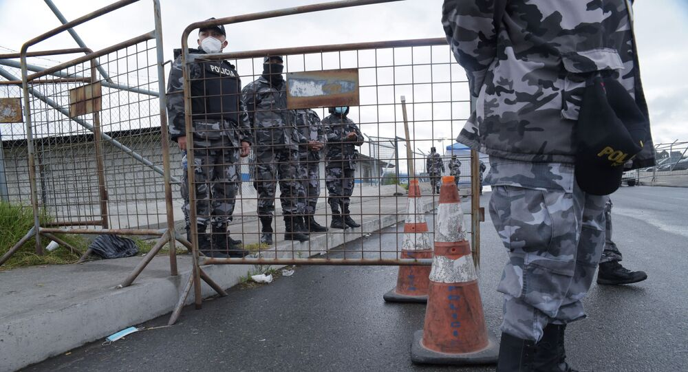 أعمال شغب في سجون إكوادور