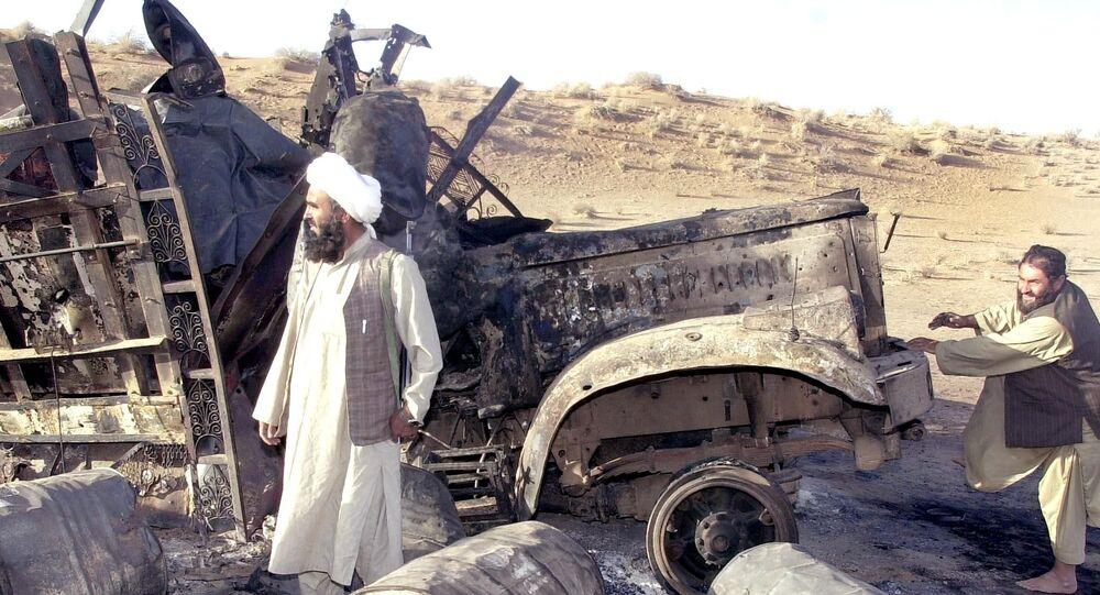 غارات جوية في أفغانستان