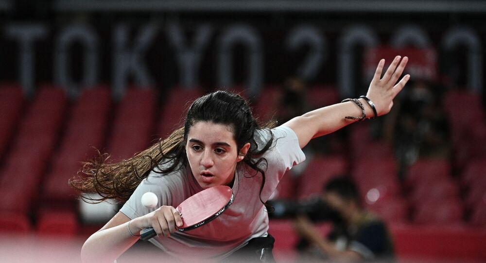 الرياضية التونسية هند ظاظا