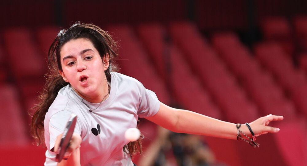 السورية هند ظاظا أصغر رياضية في أولمبياد طوكيو