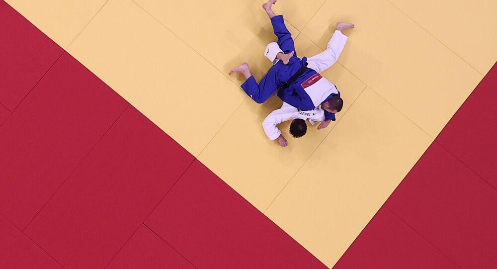 نزال جودو في أولمبياد طوكيو