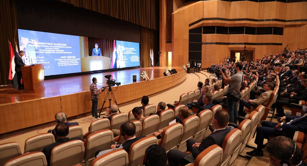 مؤتمر عودة اللاجئين السوريين في دمشق