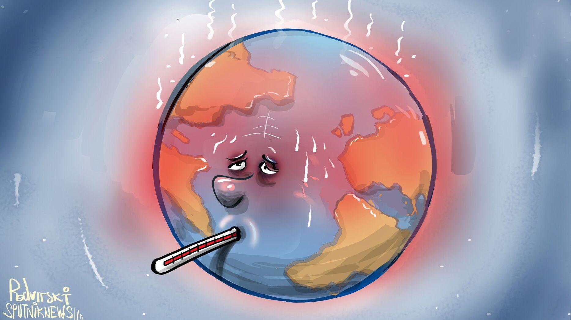 الكارثة العالمية تحل بالعالم أبكر من المتوقع