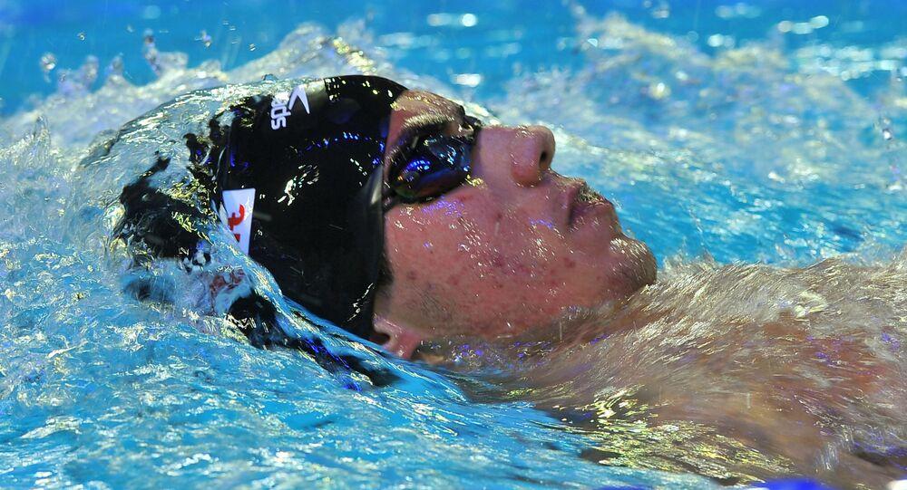 السباح السوري أيمن كلزية