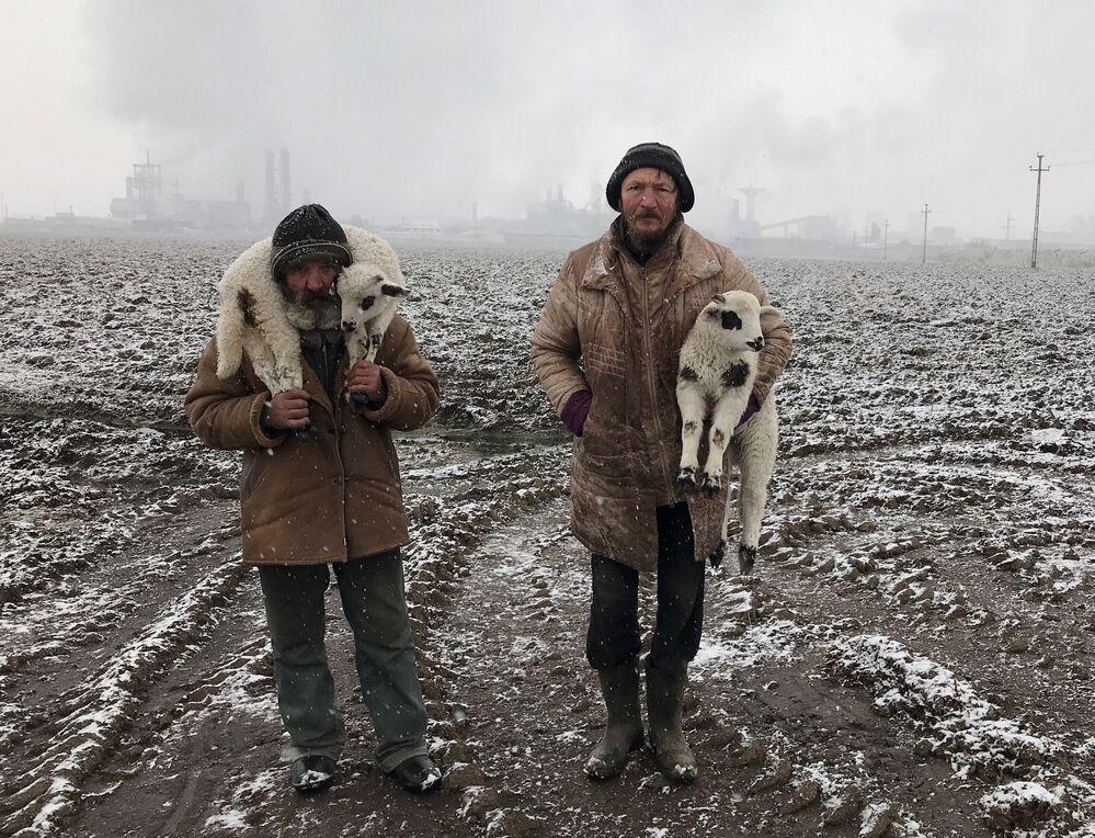 صورة بعنوان رعاة من ترانسيلفانيا، للمصور الهنغاري إستفان كيريكيس، الحائز على الجائزة الكبرى في مسابقة التصوير الدولية IPPAWARDS 2021