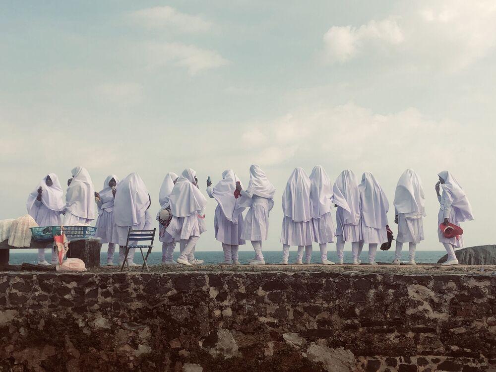 صورة حياة الفتيات، للمصورة الألمانية فاليري هلبيتش-بوتشاتشير، الحائزة على المركز الثالث في ترشيحات أسلوب حياة من  مسابقة التصوير الدولية IPPAWARDS 2021