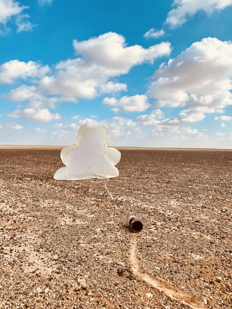 صورة بعنوان سحاب، للمصور الإسرائيلي إينات شتيكلر، الحائزة على المركز الأول في ترشيحات البيئة من  مسابقة التصوير الدولية IPPAWARDS 2021