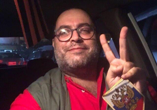 مراسل وكالة سبوتنيك في لبنان وسام متى