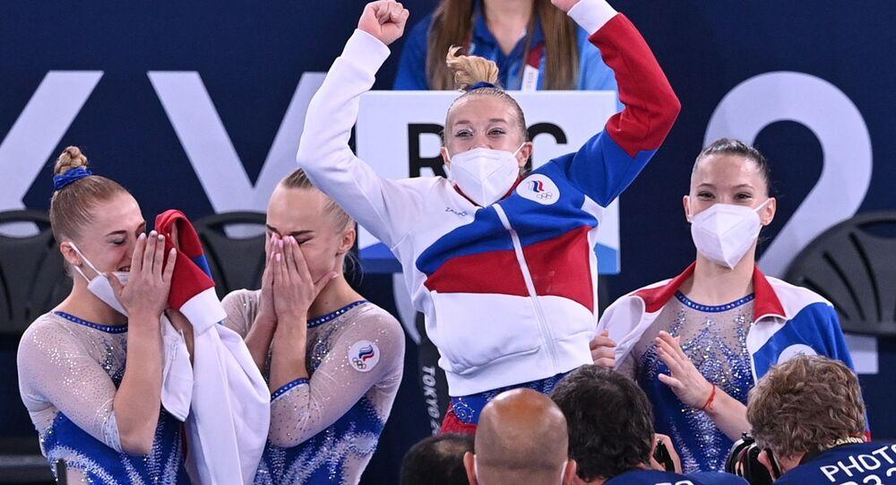 فريق الجمباز الرياضي الروسي في أولمبياد طوكيو 2020