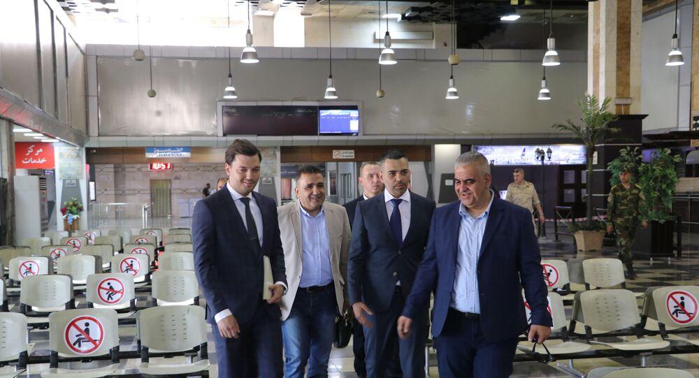 استئناف حركة الشحن الجوي بين كراسنودار الروسية وحلب السورية، 28 يوليو 2021