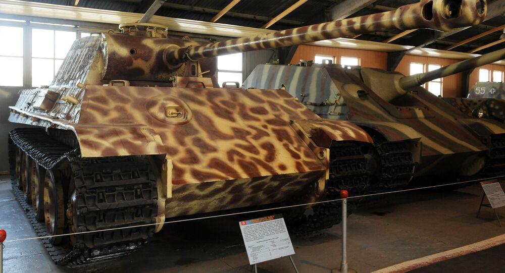 دبابة من طراز بانتيرا