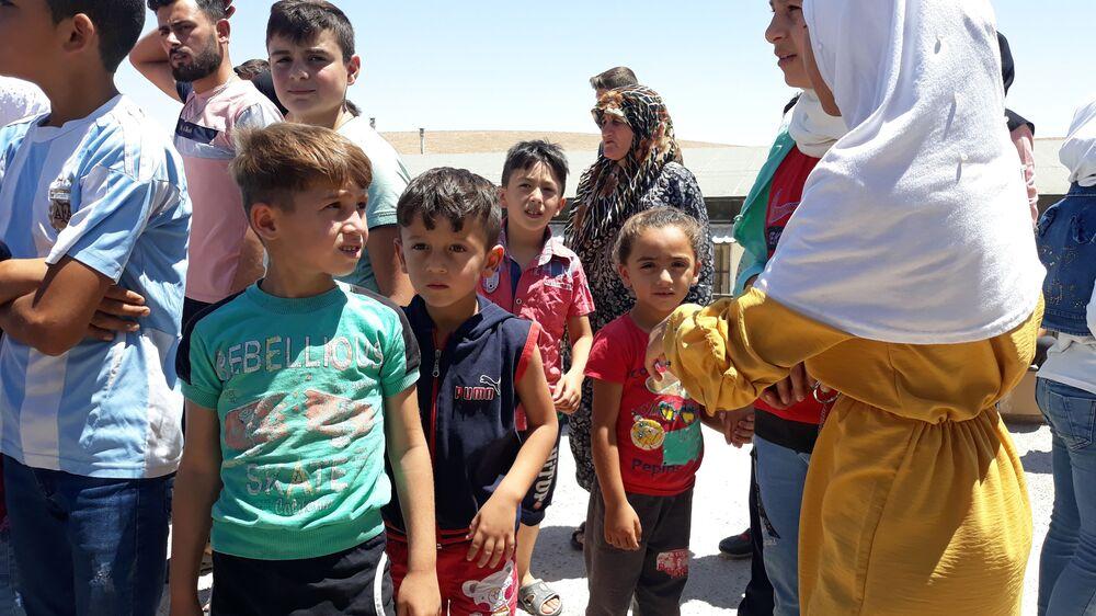 مساعدات من خانتي مانسيسك الروسي تصل سوريا