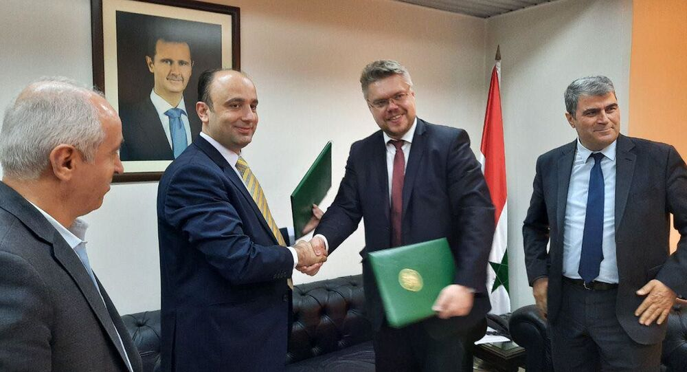 توقيع مذكرة تعاون بين سبوتنيك والهيئة العامة للإذاعة والتلفزيون في سورية