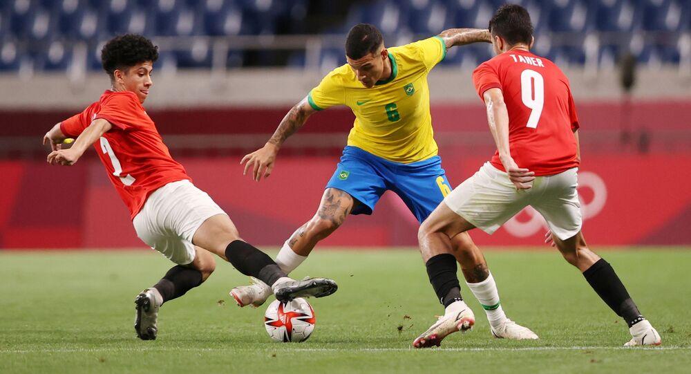 مصر والبرازيل في أولمبياد طوكيو
