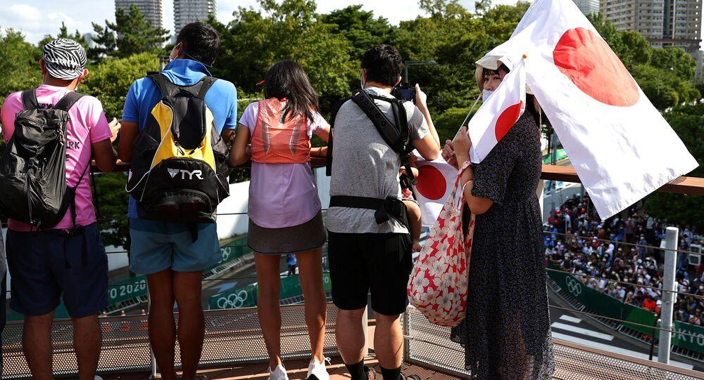 جمهور في أولمبياد طوكيو 2020، اليابان