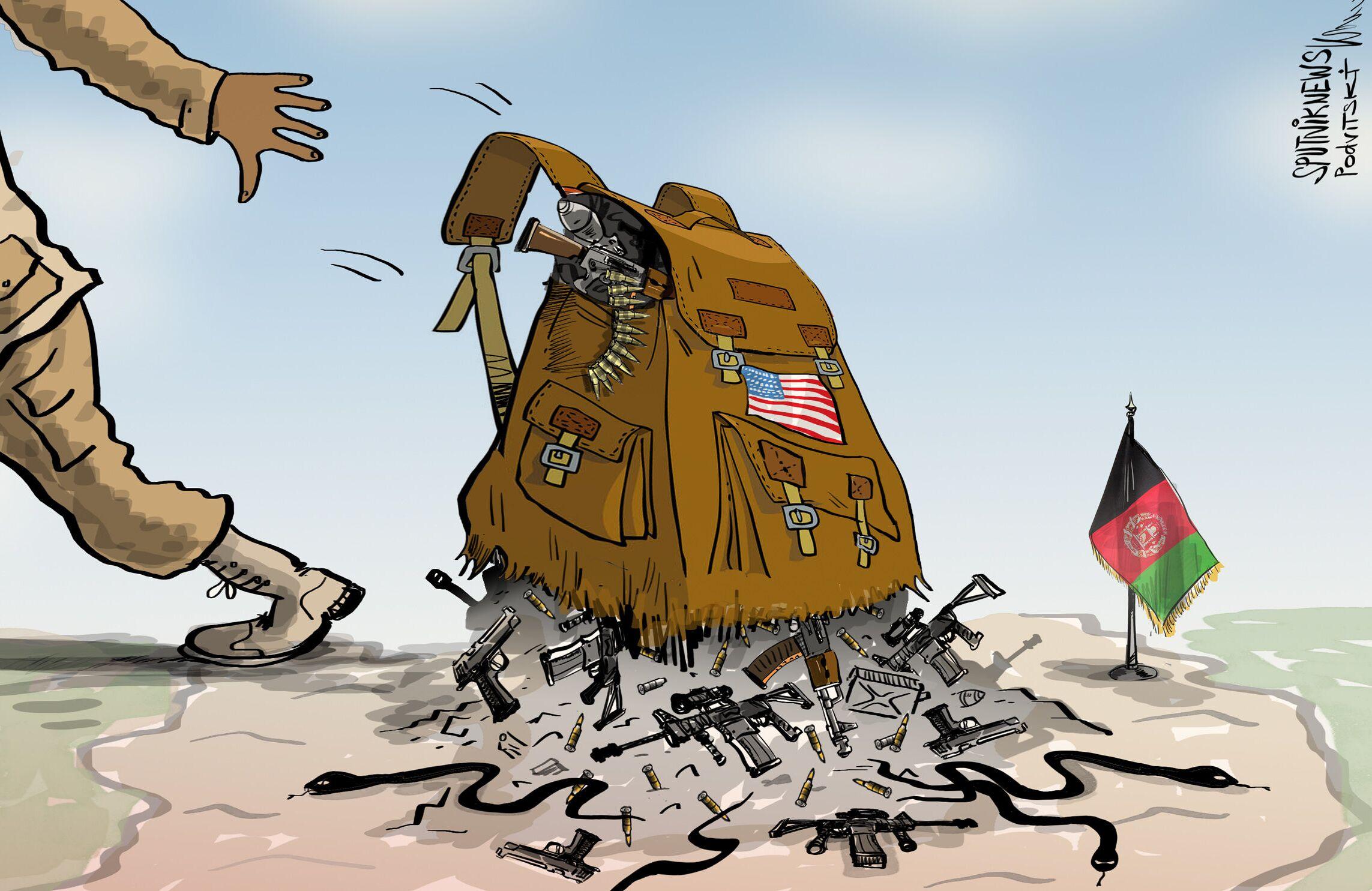 عواقب محتملة من انسحاب أمريكا من أفغانستان
