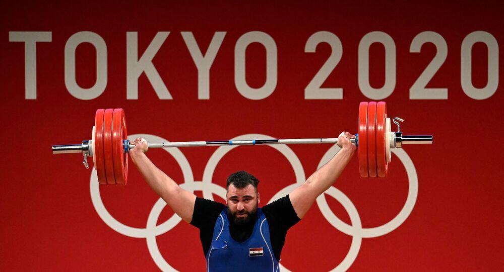 الرباع السوري معن أسعد يفوز بميدالية برونزية في أولمبياد طوكيو