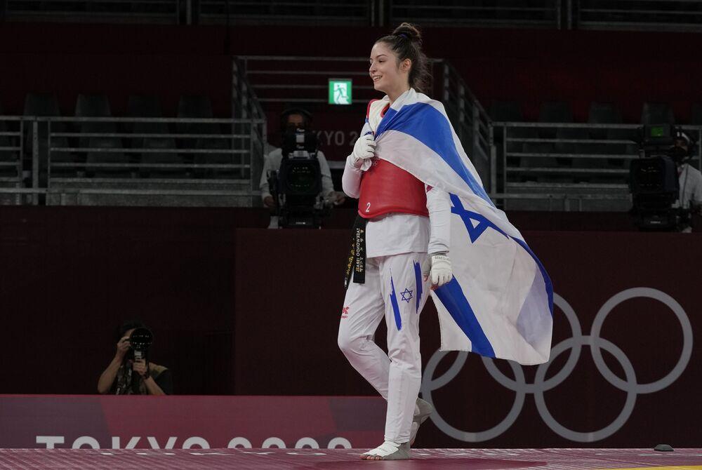 لاعبة تايكواندو الإسرائيلية أفيشاغ سيمبيرغ