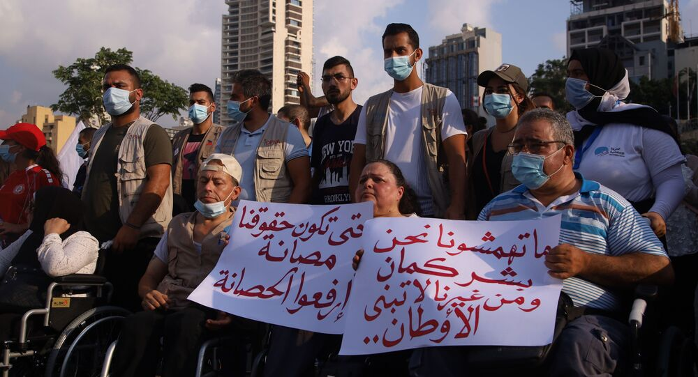 أهالي ضحايا انفجار مرفأ بيروت، اليوم الأحد، بأول تجرك لهم في لبنان، بعد الذكرى السنوية للكارثة