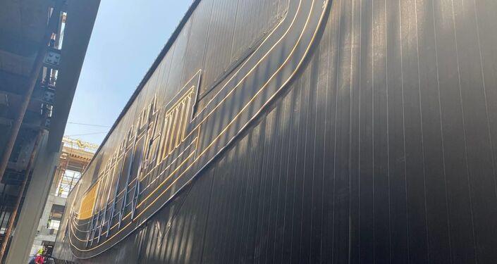 نقل مركب خوفو من منطقة الأهرامات إلى المتحف المصري الجديد