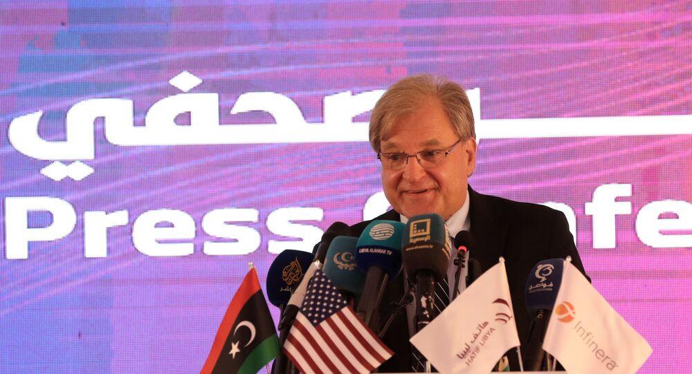 المبعوث الأمريكي الخاص والسفير إلى ليبيا ريتشارد نورلاند
