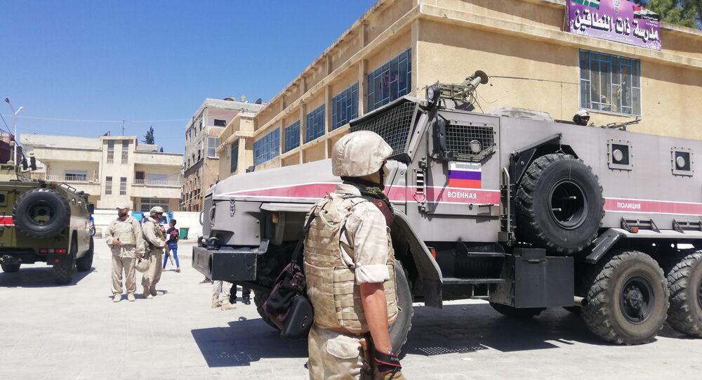 مقترح روسي أخير لتجنب الصدام بين الجيش السوري ومسلحي (درعا البلد)