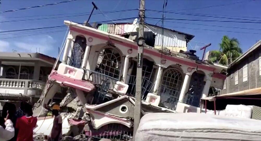 زلزال عنيف يضرب جنوب هاييتي