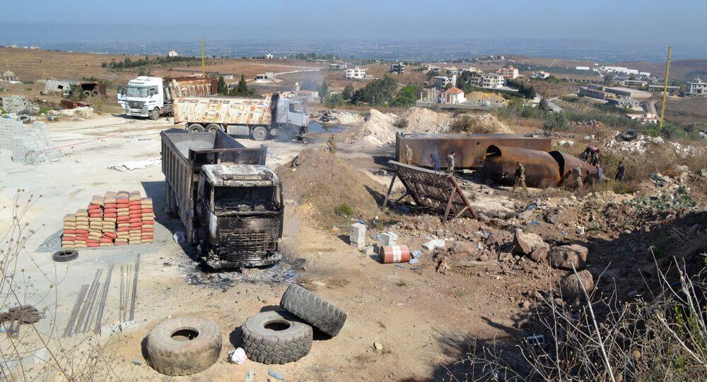 انفجار عكار في لبنان