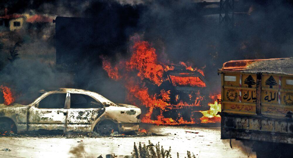 انفجار عكار اللبنانية