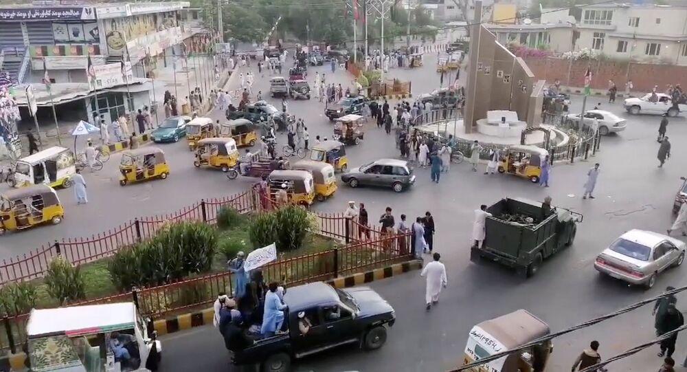 مقاتلي حركة طالبان يدخلون العاصمة الأفغانية كابل
