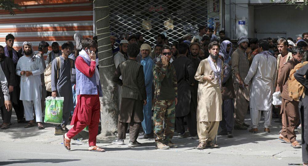 مواطنون أفغان في كابول