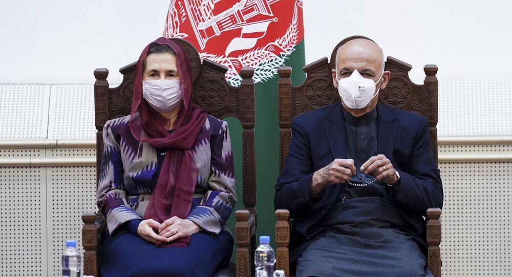 رولا سعادة زوجة الرئيس الأفغاني السابق أشرف غني ذات الأصول اللبنانية