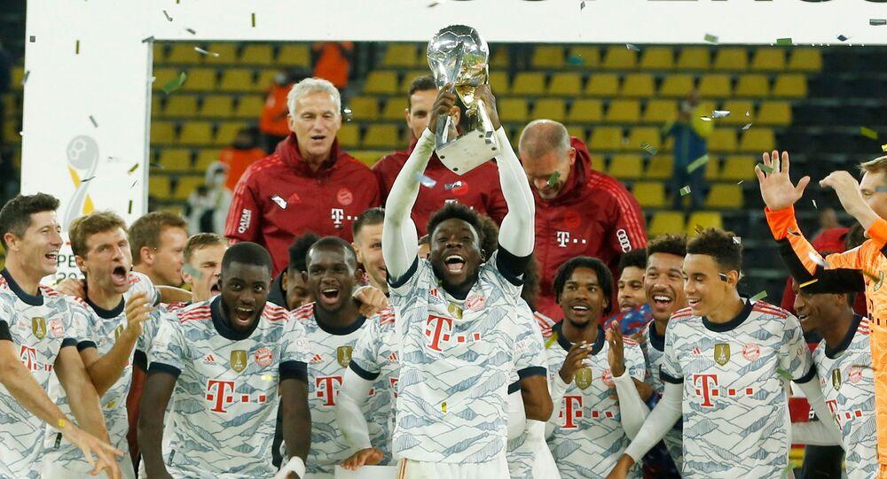 بايرن ميونيخ يفوز بكأس السوبر الألماني