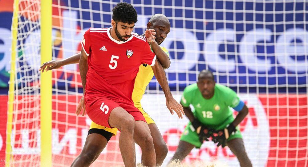 كأس العالم للكرة الشاطئية 2021 لقاء الإمارات وموزامبيق