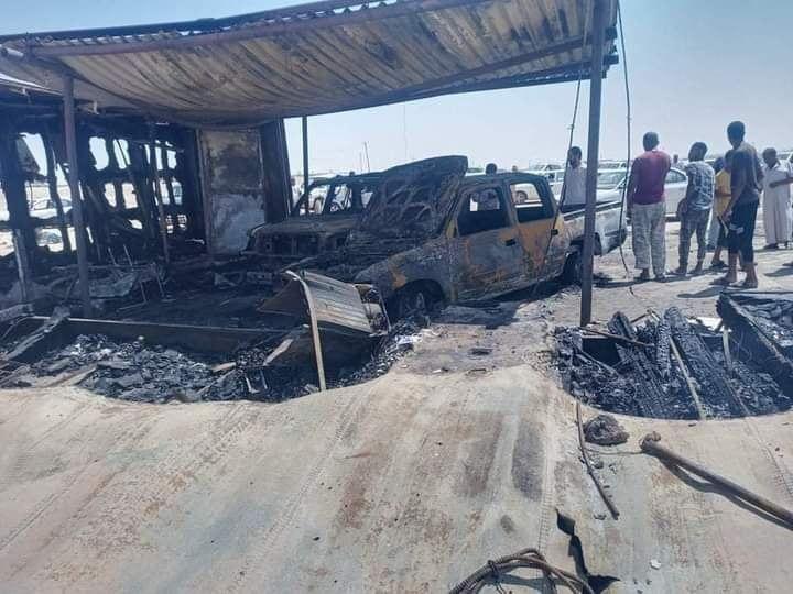 انفجار بسيارة مفخخة في مدينة زلة جنوب شرق العاصمة الليبية