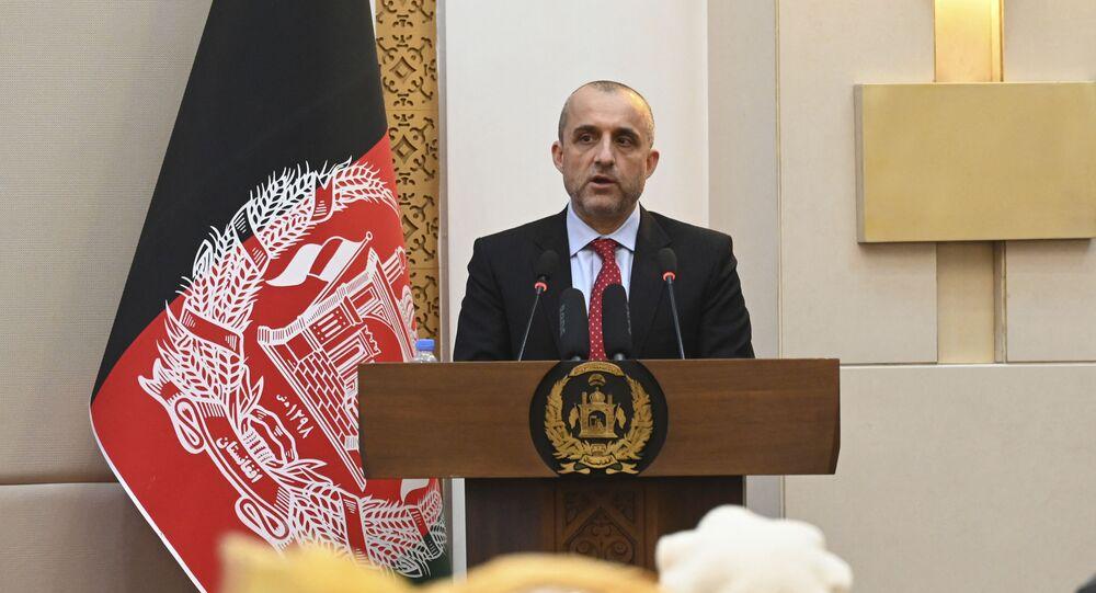 نائب الرئيس الأفغاني عمرو الله صالح، الذي أعلن نفسه رئيسًا بالوكالة ودعا إلى المقاومة