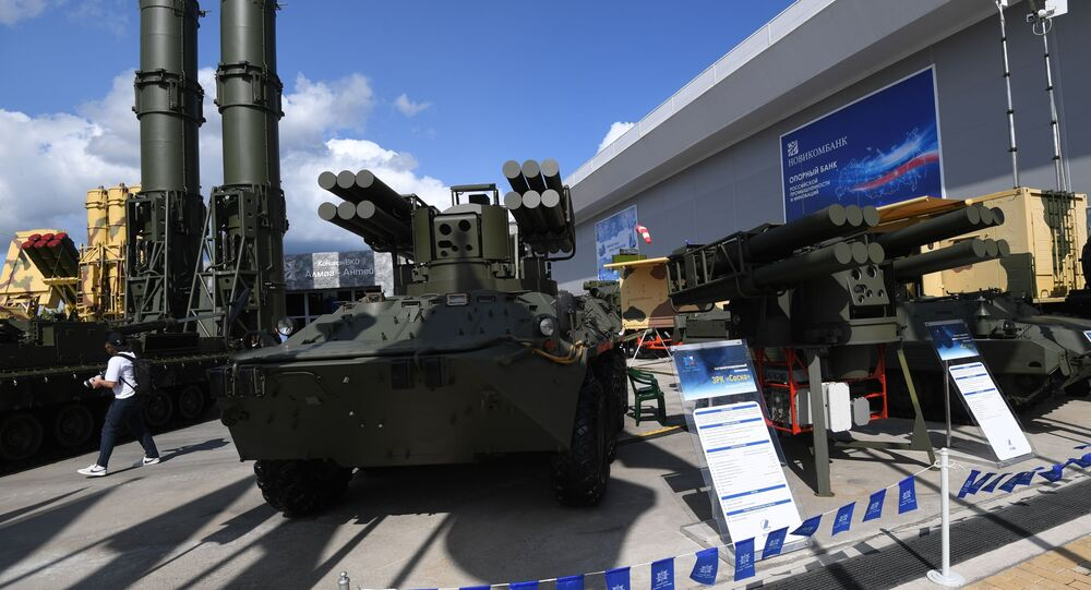 معرض أرميا 2021 - منظومة سوسنا النارية المتخصصة في الدفاع الجوي
