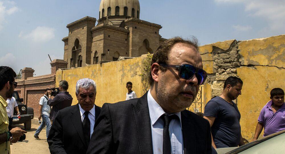 نقيب الممثلين في مصر الفنان أشرف زكي