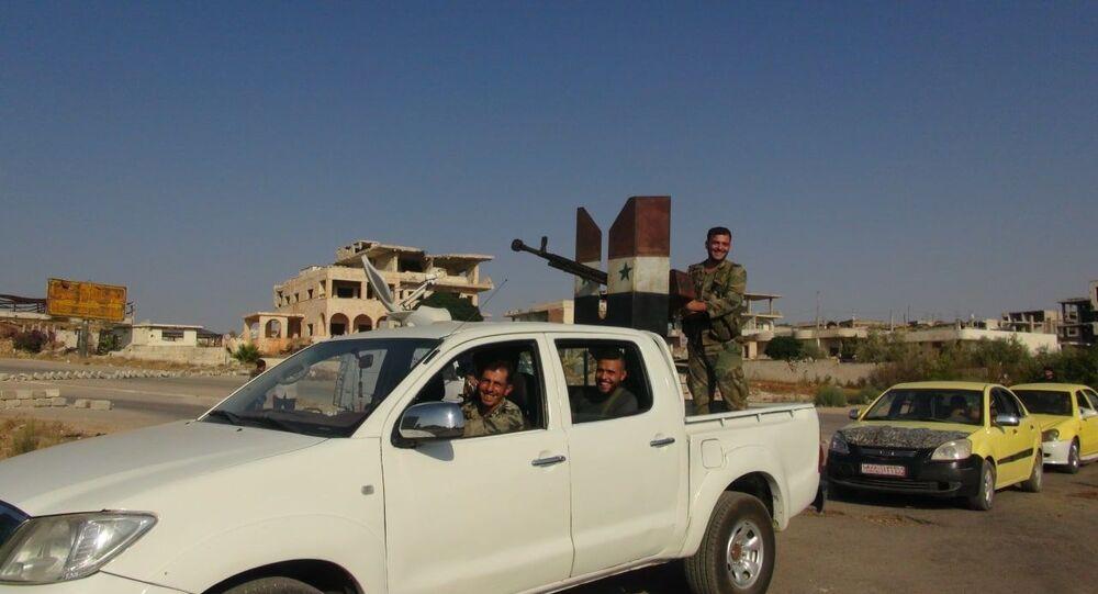 حي درعا البلد، سوريا 31 أغسطس 2021